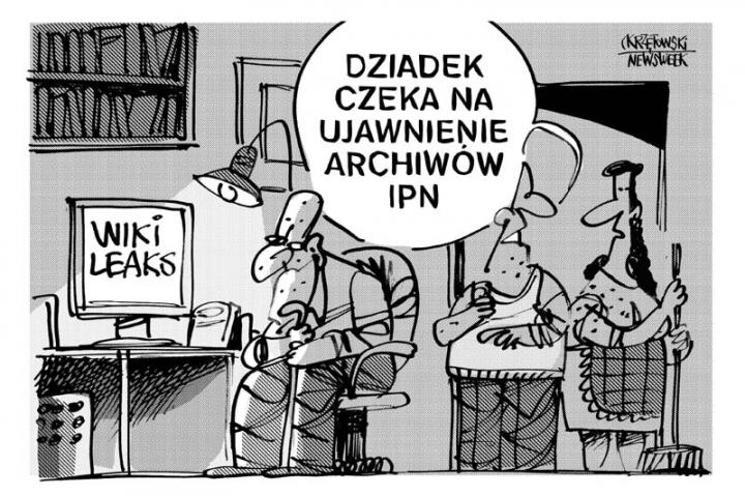 IPN Ministerstwem Prawdy ze świata Orwellowskiego.