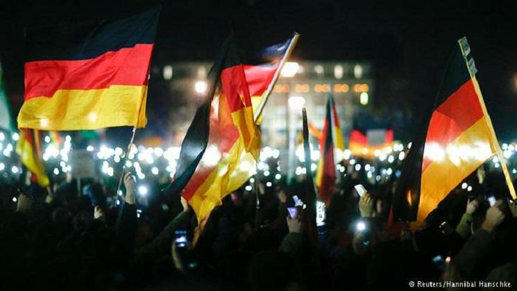 Niemcy: Coraz więcej ludzi protestuje