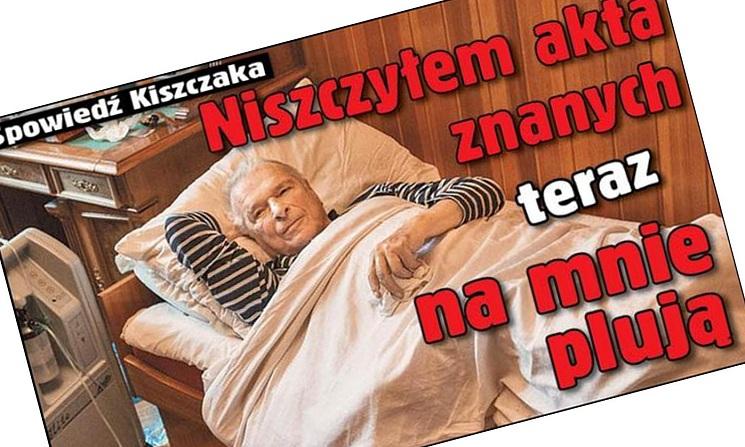 """gen. Kiszczak: """"Niszczyłem teczki znanych osób a oni teraz na mnie plują"""""""