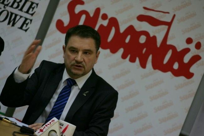 Prokuratura sprawdzi czy szef Solidarności groził posłom