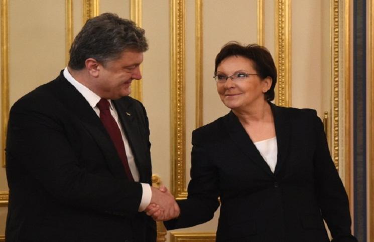 Polska oferta dla Ukrainy: 100 mln euro, pełnomocnik rządu i stypendia dla studentów