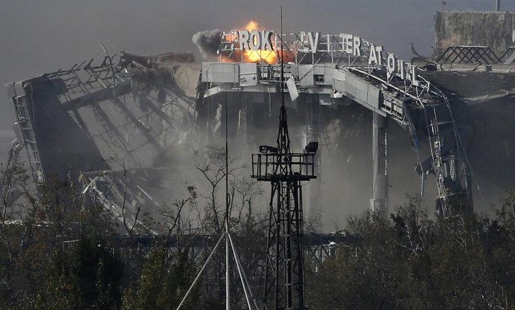 Koniec bitwy o lotnisko w Doniecku. Siły rządowe Ukrainy opuściły obiekt