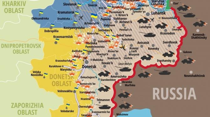 Rosyjskie wojsko zaatakowało rządowe siły Ukrainy