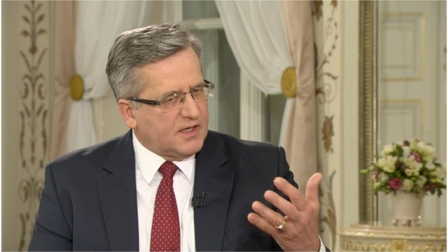 Prezydent Bronisław Komorowski wyklucza swój udział w debatach prezydenckich