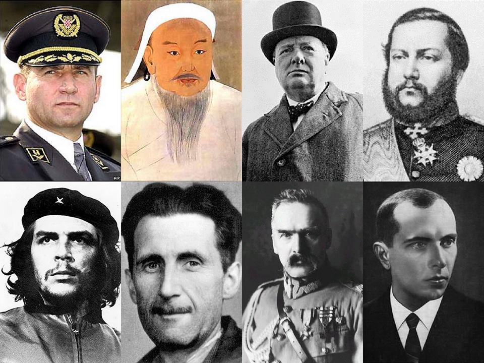Bohaterowie realni a bohaterowie z pomników