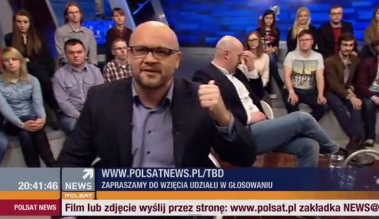 """Ostra dyskusja. Naczelny Super Expressu vs dziennikarz """"Wprost"""""""