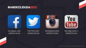 Grafika informująca o aktywności Dudy w Internecie. Fot. Fanpage Andrzeja Dudy