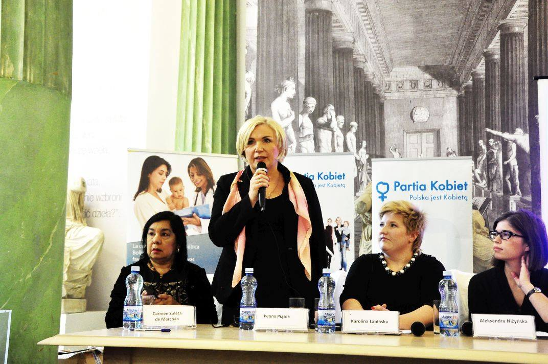 Liderka Partii Kobiet wystartuje w wyborach prezydenckich