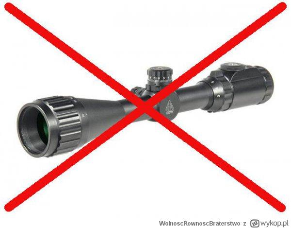 Luneta będzie dostępna... tylko z pozwoleniem na broń
