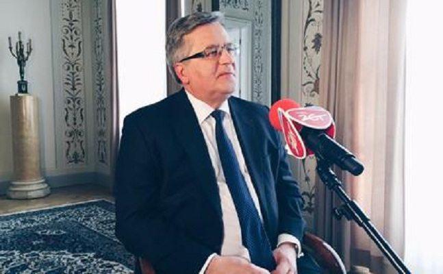 Komorowski: Zniszczenie WSI było zbrodnią i hańbą