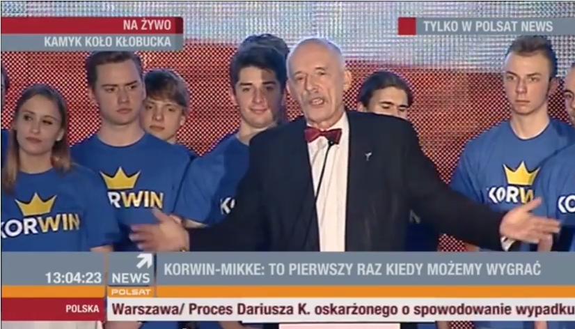 Korwin-Mikke: Chcę by Polak w ciągu 6 lat stanął na Marsie!