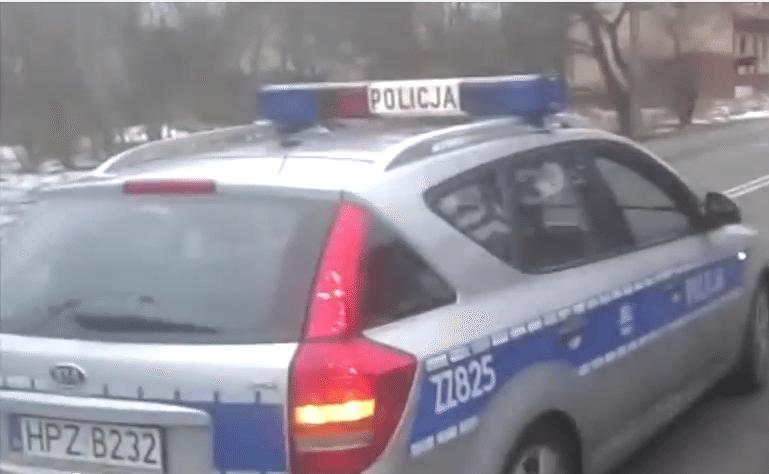 Złożył skargę na policjanta, ten dopadł go podczas spaceru z dzieckiem