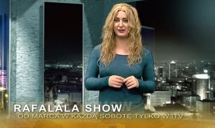 Podczas kręcenia show wąż ugryzł Rafalalę w krocze