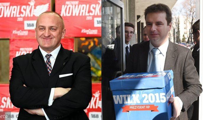 Marian Kowalski i Jacek Wilk złożyli w PKW podpisy do rejestracji w wyborach prezydenckich