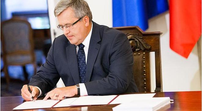 Prezydent podpisał ustawę wyrażającą zgodę na ratyfikację konwencji antyprzemocowej