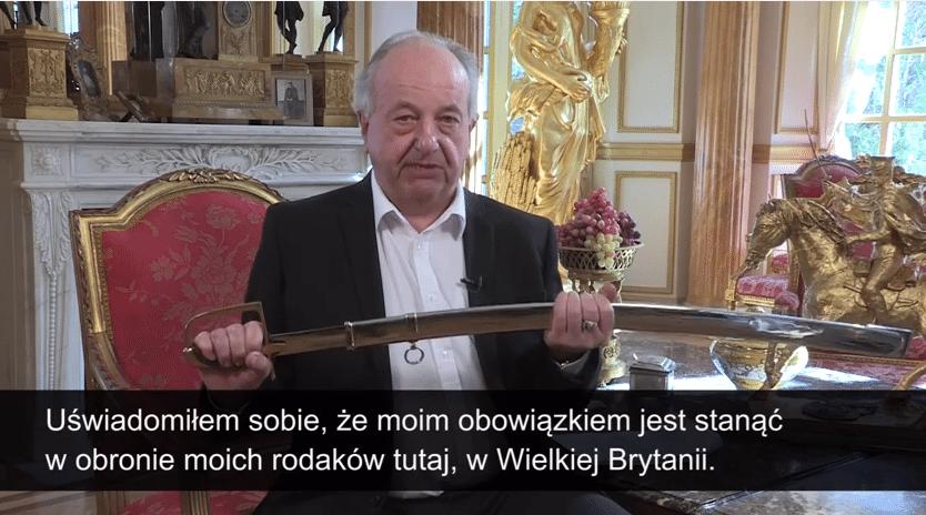 Książę w obronie Polaków wyzywa Nigela Farage'a na pojedynek! (video)