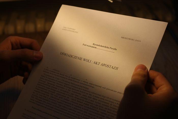 GIODO: Coraz więcej skarg dotyczących apostazji