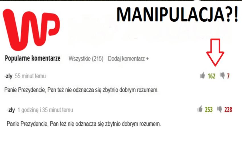 Manipulacja komentarzami na WP na rzecz PO. Wynajęte trolle?
