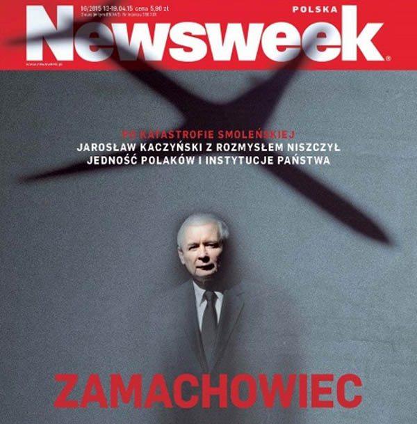 Tygodnik Newsweek podarty na wizji (VIDEO)
