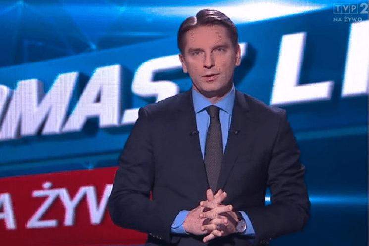 """Program """"Tomasz Lis na żywo"""" odwołany. Dziennikarz w szpitalu."""