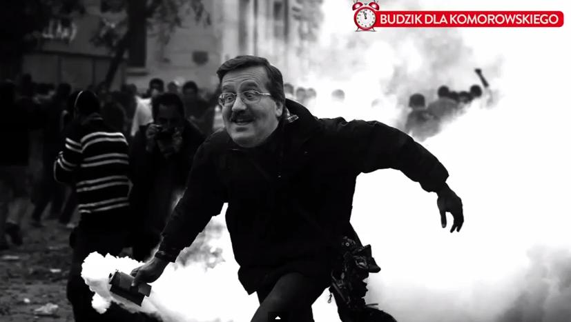 """Kukiz śmieje się z Komorowskiego. """"Budzik"""" podbija sieć (video)"""