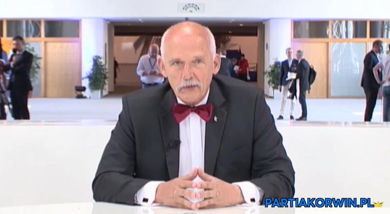 Korwin-Mikke pozbawiony immunitetu europosła