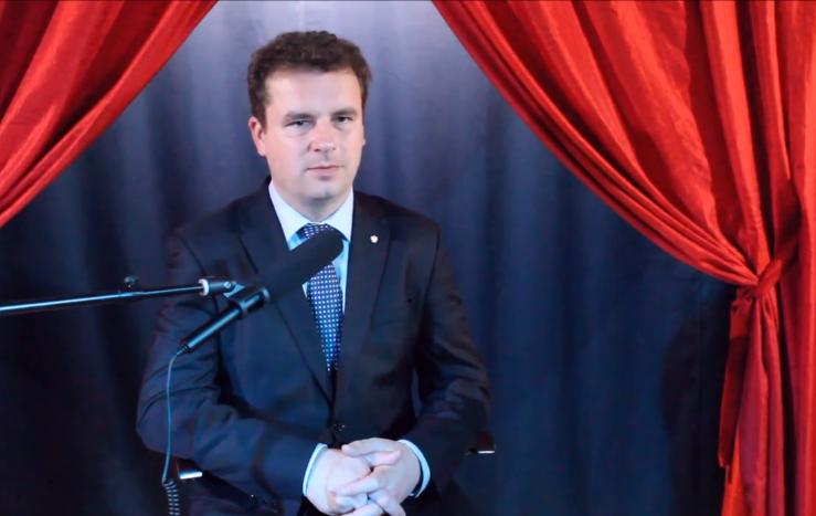 Jacek Wilk założył się na pieniądze z dziennikarzem Pikio o swój wynik