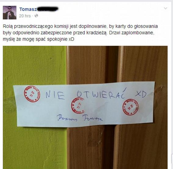 Cyrk w komisji w Katowicach? Przewodniczący puszcza muzykę kandydata