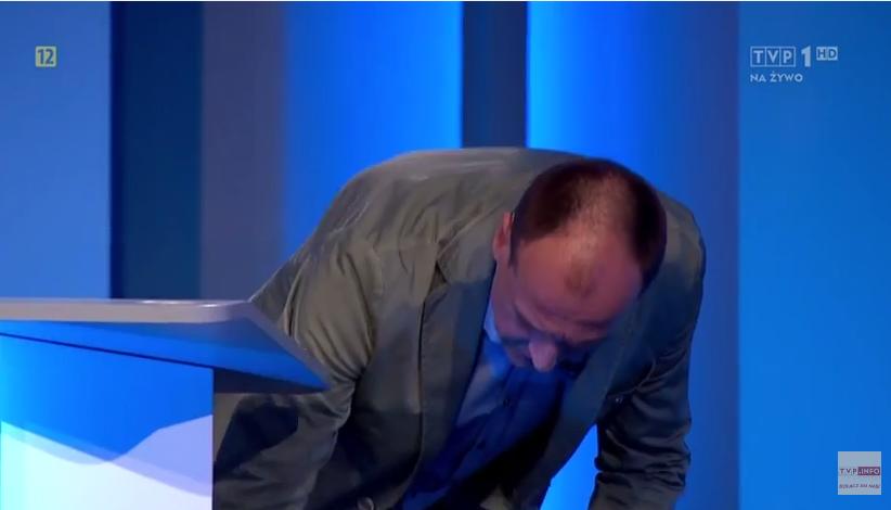 Debata: Kukiz przynosi krzesło dla nieobecnego prezydenta (video)