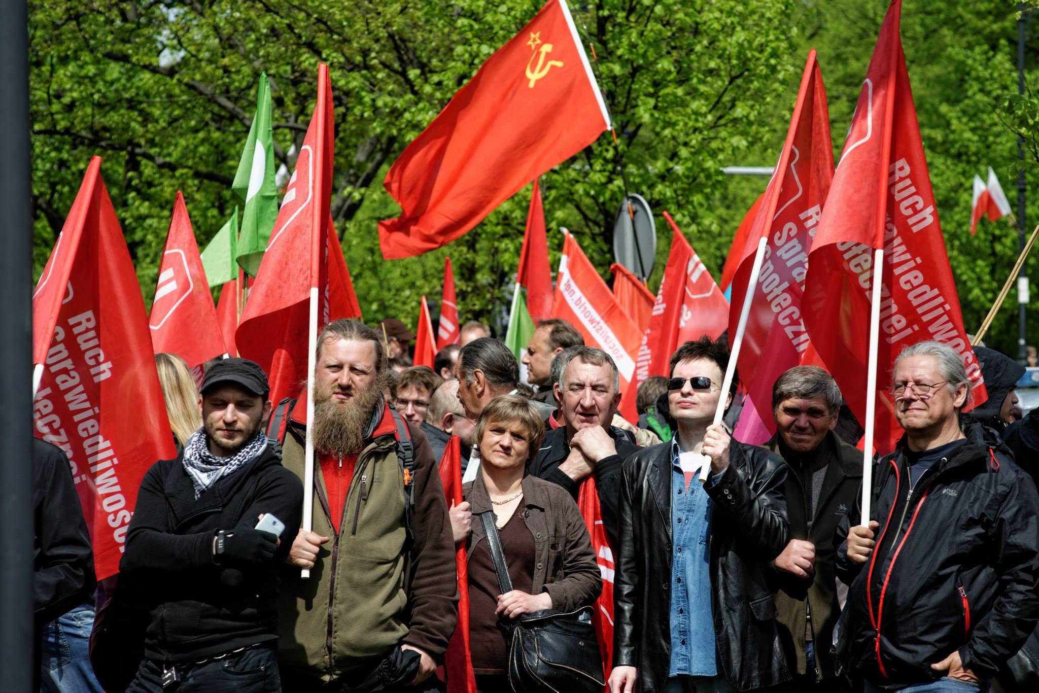 """Manifestacja 1 maja """"O godność pracy"""" (dużo zdjęć)"""