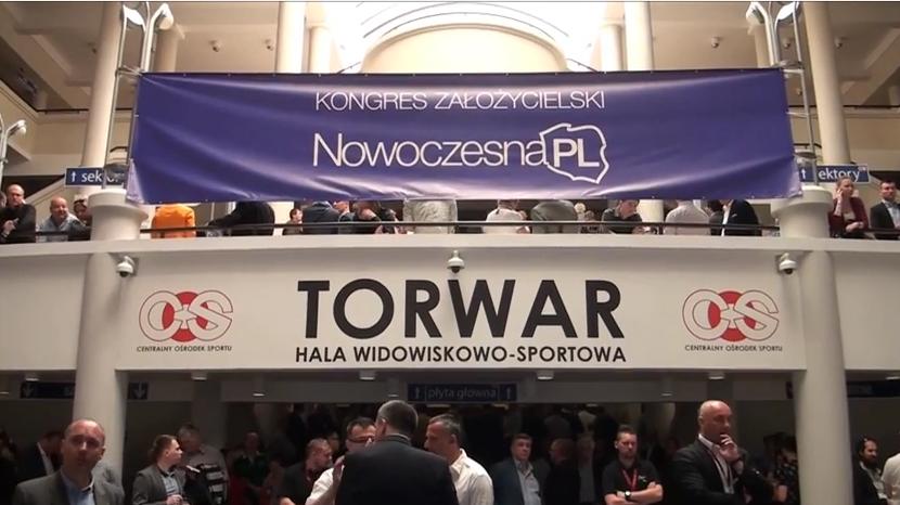 Odbył się kongres założycielski ugrupowania Ryszarda Petru - NowoczesnaPL