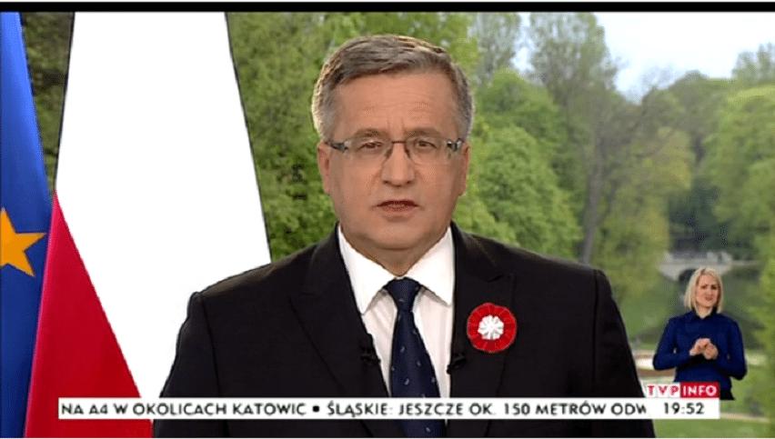 Dzisiaj wielka debata, TVP nie napiętnuje absencji Komorowskiego