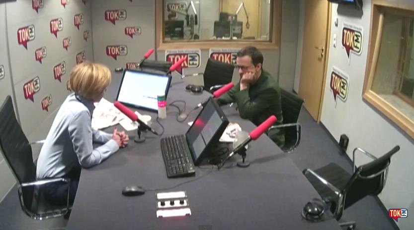 Dziennikarze TOK FM wyśmiewają i parodiują nieobecnego Dudę (Video)
