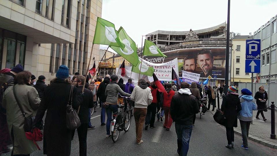 Zieloni aktywni są na wielu polach, jednak media milczą na ten temat