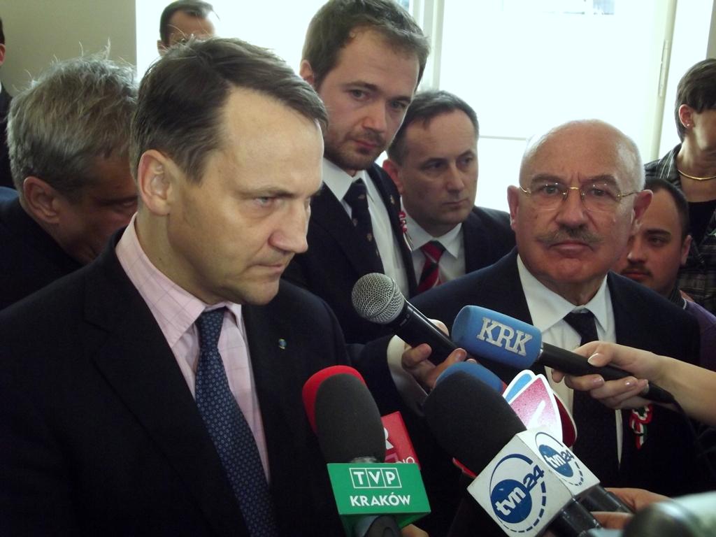 Sikorski odchodzi ale będzie liderem list wyborczych w Bydgoszczy