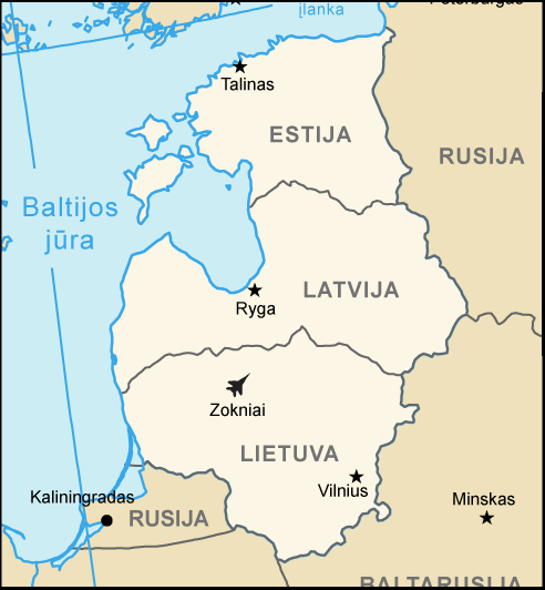 Rosja podważa legalność niepodległości Litwy, Łotwy i Estonii