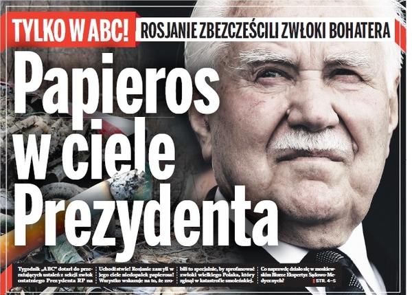 Smoleńsk. Rosjanie zaszyli papierosa w ciele Ryszarda Kaczorowskiego
