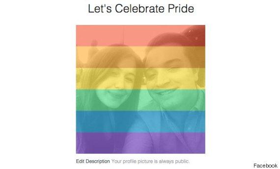 Facebook pokrywa zdjęcia profilowe użytkowników tęczową flagą