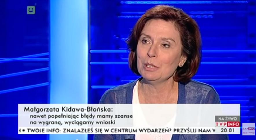 Rzeczniczka rządu Małgorzata Kidawa-Błońska ma zostać marszałkiem sejmu