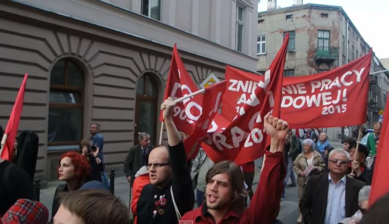 Nowak o marszu lewicy: Ciarki podczas Międzynarodówki