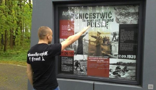 Ukrainiec mieszkający w Polsce obraża polskie ofiary nazistów