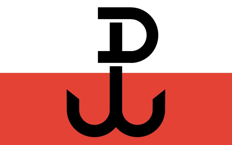 """Symbol Polski Walczącej jako """"hitlerowska flaga"""""""