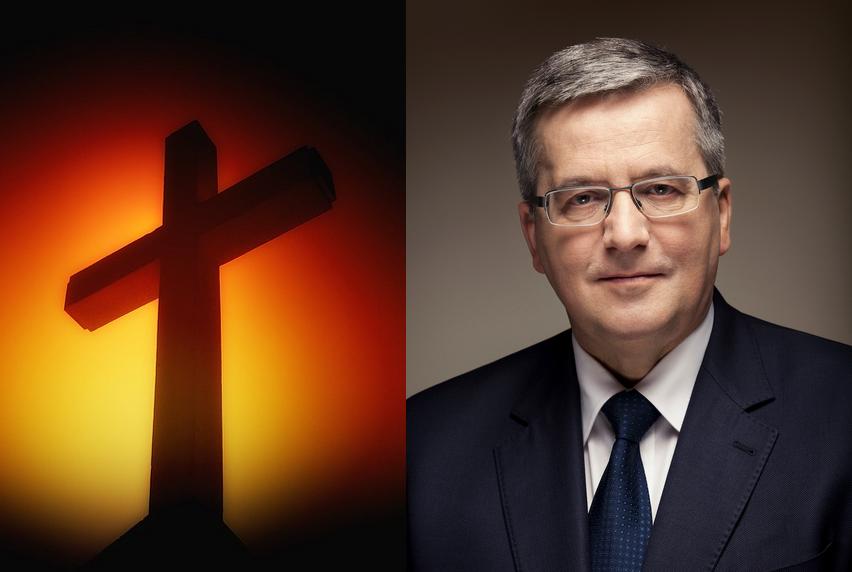 """Kościół radzi jak postępować z Komorowskim na mszy! """"Odmawiać komunii"""""""