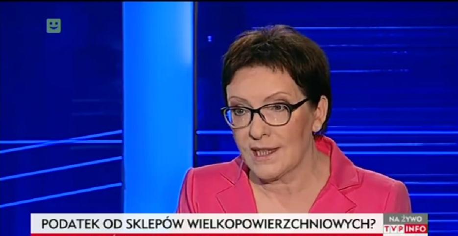 "Premier Kopacz reklamuje ""Biedronkę"" w TVP, internauci kpią (video)"