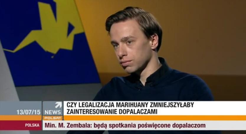 Bosak krytykowany przez narodowców za stanowisko ws. legalizacji marihuany