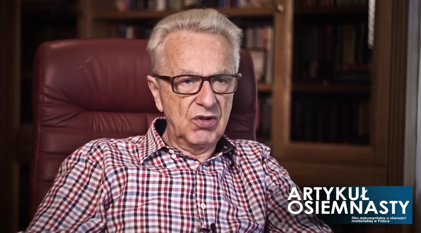 Prof. Lew-Starowicz przeprasza gejów za leczenie ich elektrowstrząsami