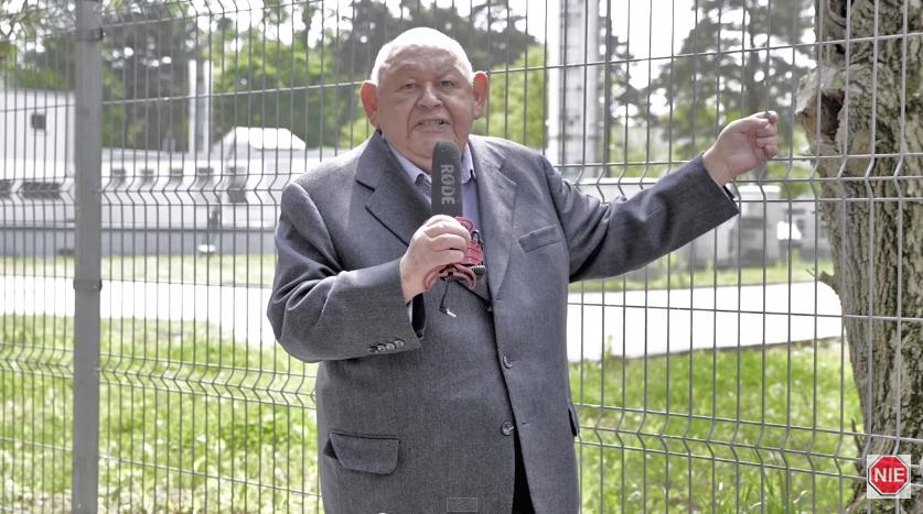 """Urban prowokuje: """"Stoimy przed polskim obozem koncentracyjnym"""" (video)"""