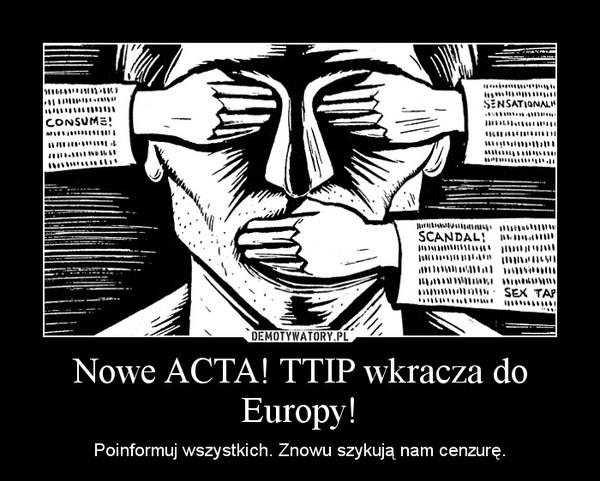 TTIP – niejasność jest wielkością niezmienną.