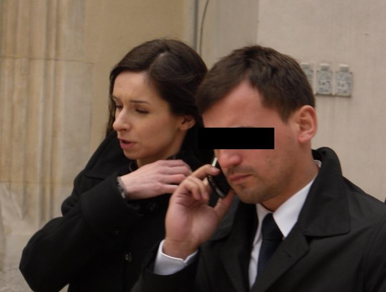 Były mąż Marty Kaczyńskiej zatrzymany przez CBA