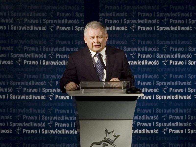 Stonoga atakuje: Kaczyński to gej, dziś opowiem o jego miłości
